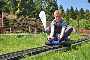 Traceboarding in Oberhof